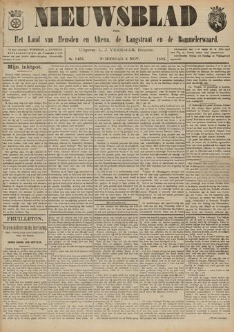 Nieuwsblad het land van Heusden en Altena de Langstraat en de Bommelerwaard 1895-11-06