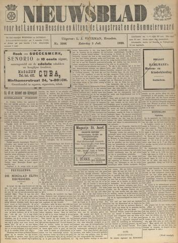 Nieuwsblad het land van Heusden en Altena de Langstraat en de Bommelerwaard 1920-07-03