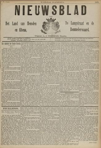 Nieuwsblad het land van Heusden en Altena de Langstraat en de Bommelerwaard 1891-08-19