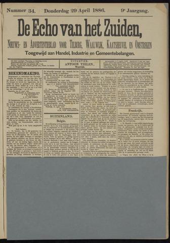 Echo van het Zuiden 1886-04-29