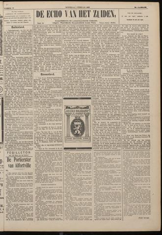 Echo van het Zuiden 1922-02-01