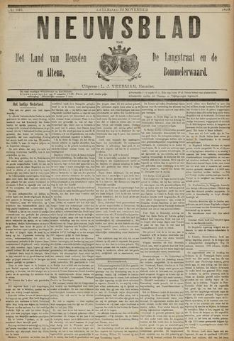 Nieuwsblad het land van Heusden en Altena de Langstraat en de Bommelerwaard 1890-11-29