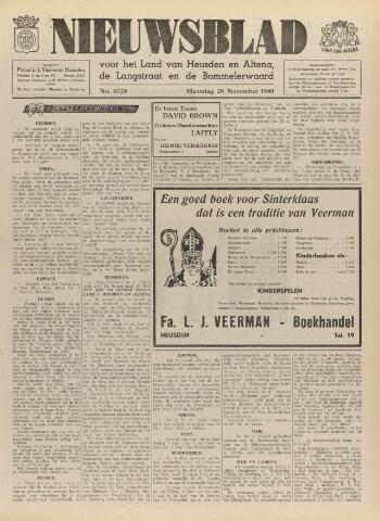 Nieuwsblad het land van Heusden en Altena de Langstraat en de Bommelerwaard 1949-11-28
