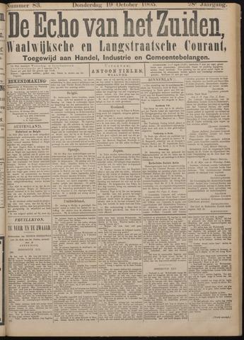 Echo van het Zuiden 1905-10-19