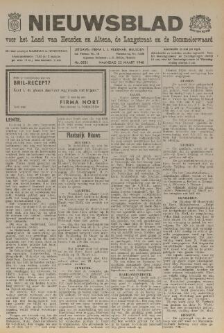 Nieuwsblad het land van Heusden en Altena de Langstraat en de Bommelerwaard 1948-03-22