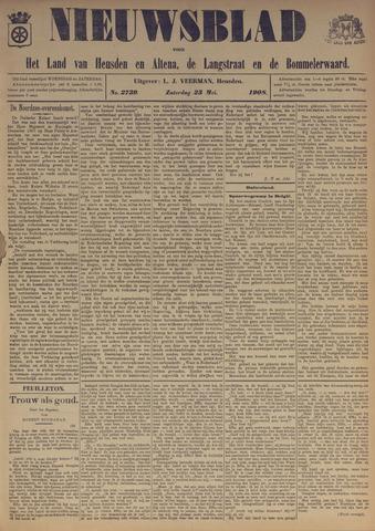 Nieuwsblad het land van Heusden en Altena de Langstraat en de Bommelerwaard 1908-05-23