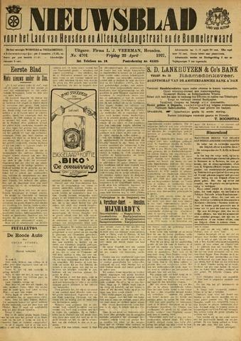 Nieuwsblad het land van Heusden en Altena de Langstraat en de Bommelerwaard 1927-04-22