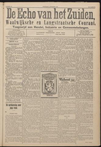 Echo van het Zuiden 1925-11-04