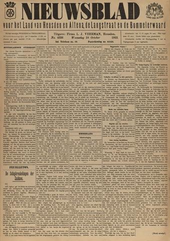 Nieuwsblad het land van Heusden en Altena de Langstraat en de Bommelerwaard 1923-10-10