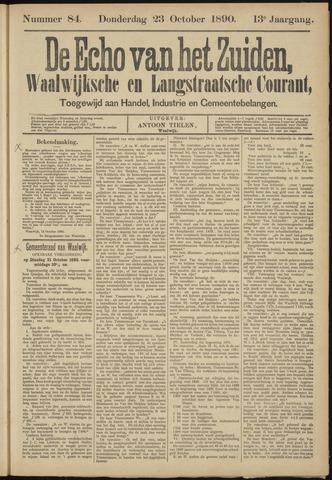 Echo van het Zuiden 1890-10-23