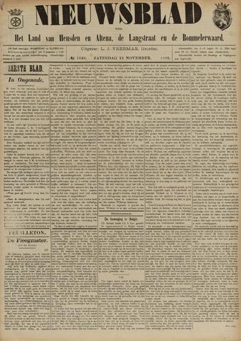 Nieuwsblad het land van Heusden en Altena de Langstraat en de Bommelerwaard 1892-11-12