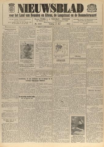 Nieuwsblad het land van Heusden en Altena de Langstraat en de Bommelerwaard 1943-05-14