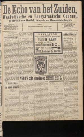 Echo van het Zuiden 1934-04-28