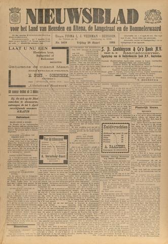 Nieuwsblad het land van Heusden en Altena de Langstraat en de Bommelerwaard 1934-03-23