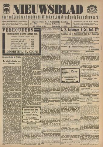Nieuwsblad het land van Heusden en Altena de Langstraat en de Bommelerwaard 1930-01-03
