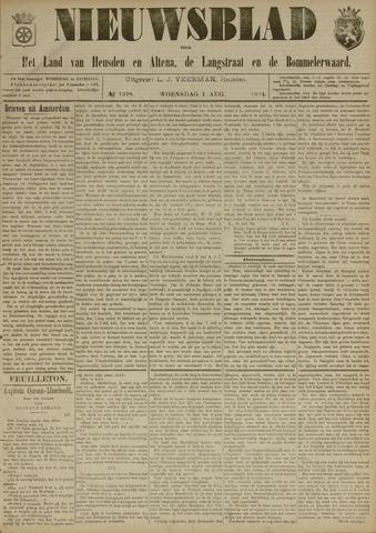 Nieuwsblad het land van Heusden en Altena de Langstraat en de Bommelerwaard 1894-08-01