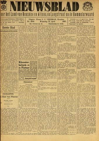 Nieuwsblad het land van Heusden en Altena de Langstraat en de Bommelerwaard 1927-04-13