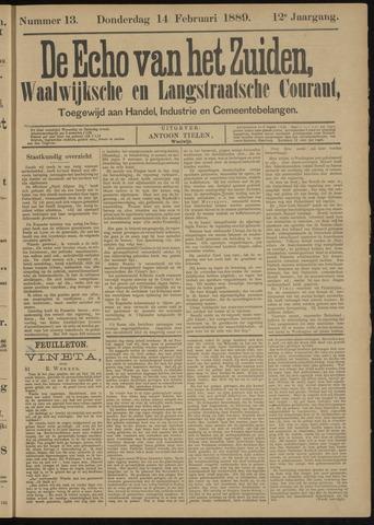 Echo van het Zuiden 1889-02-14