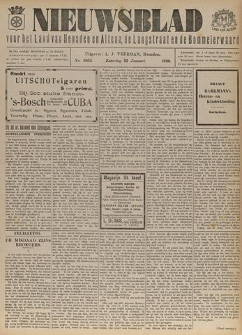 Nieuwsblad het land van Heusden en Altena de Langstraat en de Bommelerwaard 1920-01-31