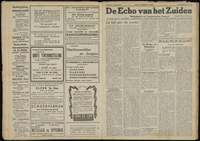 Echo van het Zuiden 1948-06-08