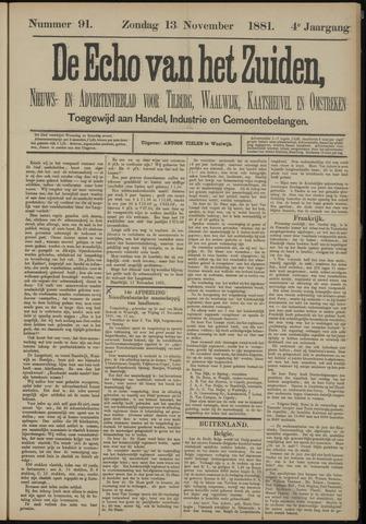 Echo van het Zuiden 1881-11-13