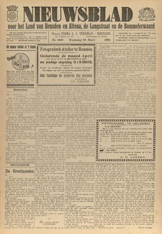 Nieuwsblad het land van Heusden en Altena de Langstraat en de Bommelerwaard 1934-03-28