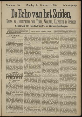 Echo van het Zuiden 1882-02-19