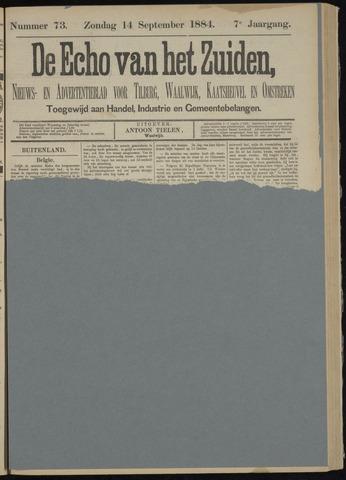 Echo van het Zuiden 1884-09-14