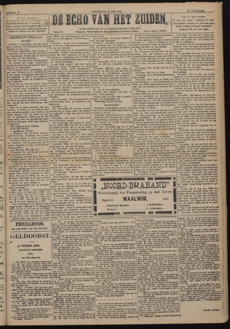 Echo van het Zuiden 1918-06-27