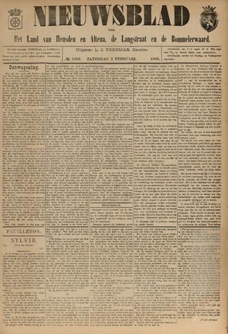 Nieuwsblad het land van Heusden en Altena de Langstraat en de Bommelerwaard 1895-02-02