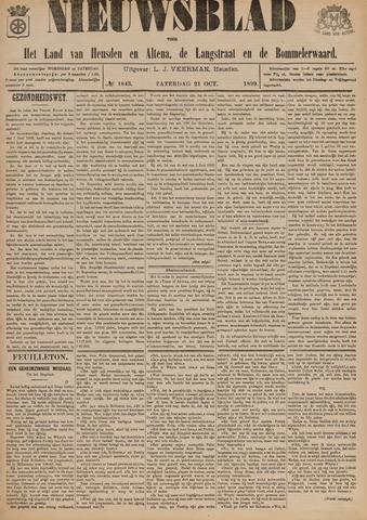 Nieuwsblad het land van Heusden en Altena de Langstraat en de Bommelerwaard 1899-10-21