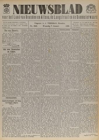 Nieuwsblad het land van Heusden en Altena de Langstraat en de Bommelerwaard 1920-01-07