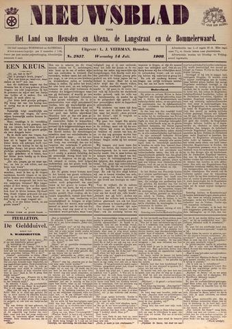 Nieuwsblad het land van Heusden en Altena de Langstraat en de Bommelerwaard 1909-07-14