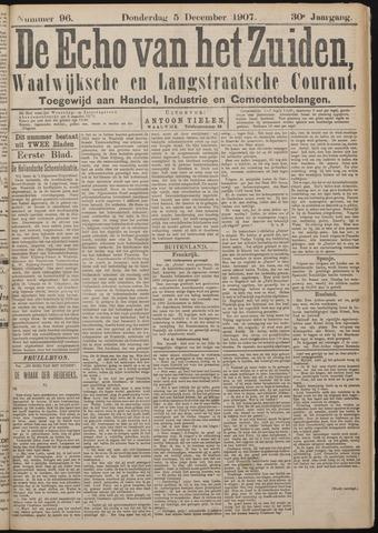 Echo van het Zuiden 1907-12-05
