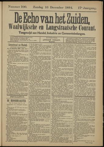 Echo van het Zuiden 1894-12-16