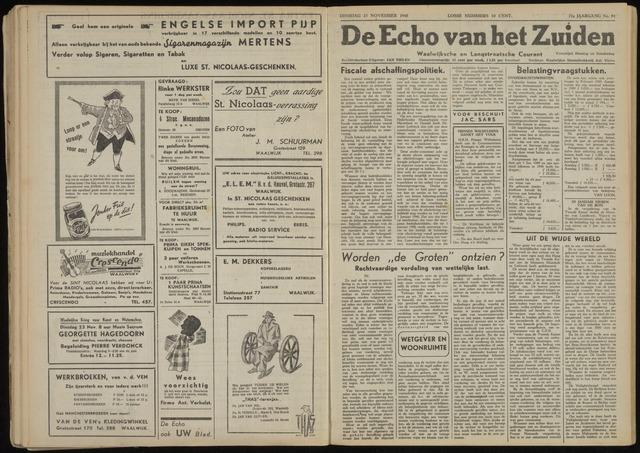 Echo van het Zuiden 1948-11-23