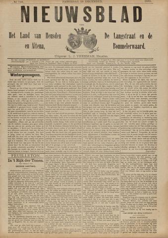 Nieuwsblad het land van Heusden en Altena de Langstraat en de Bommelerwaard 1888-12-29