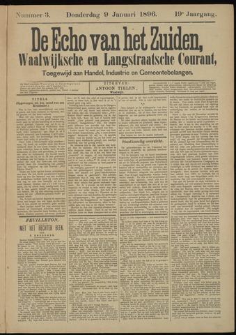 Echo van het Zuiden 1896-01-09