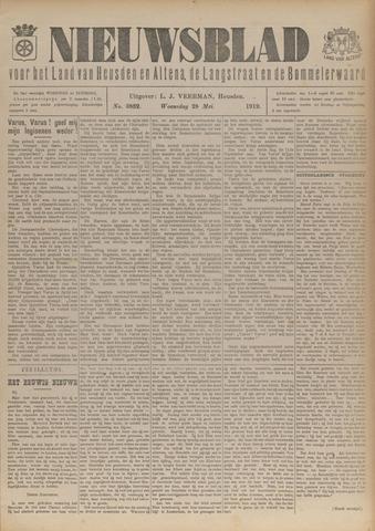 Nieuwsblad het land van Heusden en Altena de Langstraat en de Bommelerwaard 1919-05-28