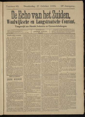 Echo van het Zuiden 1895-10-17