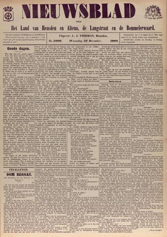 Nieuwsblad het land van Heusden en Altena de Langstraat en de Bommelerwaard 1908-12-23