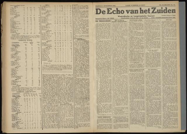 Echo van het Zuiden 1946-08-01
