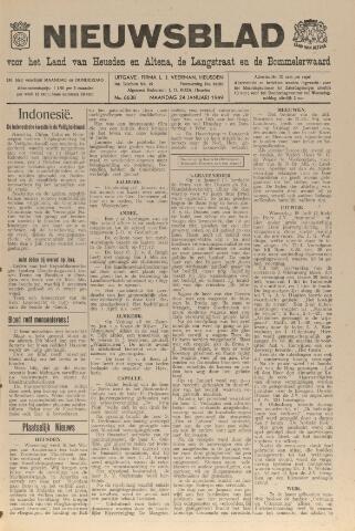 Nieuwsblad het land van Heusden en Altena de Langstraat en de Bommelerwaard 1949-01-24