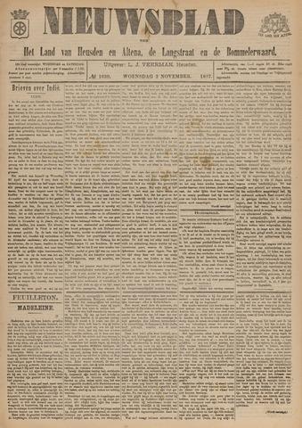 Nieuwsblad het land van Heusden en Altena de Langstraat en de Bommelerwaard 1897-11-03