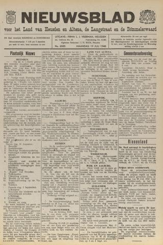 Nieuwsblad het land van Heusden en Altena de Langstraat en de Bommelerwaard 1948-07-19