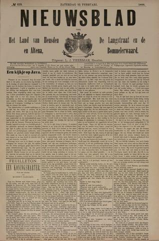 Nieuwsblad het land van Heusden en Altena de Langstraat en de Bommelerwaard 1888-02-25