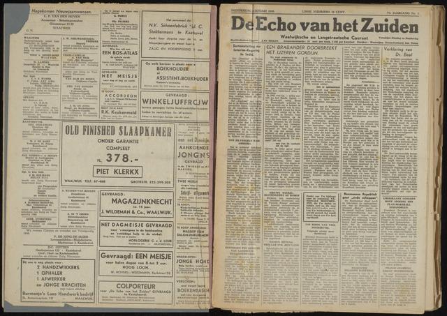 Echo van het Zuiden 1948-01-08