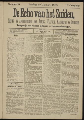 Echo van het Zuiden 1888-01-15