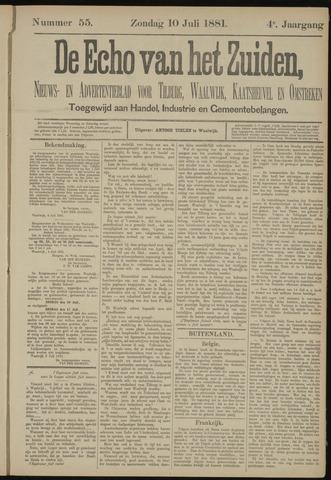 Echo van het Zuiden 1881-07-10