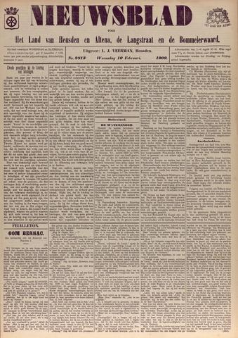 Nieuwsblad het land van Heusden en Altena de Langstraat en de Bommelerwaard 1909-02-10